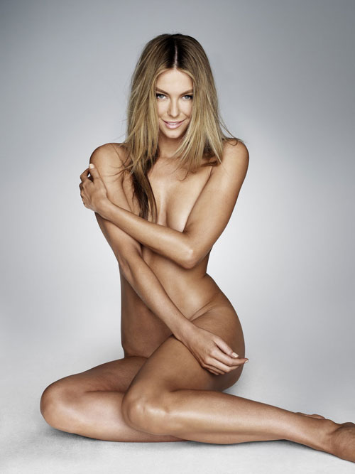 Jennifer Hawkins un-photoshopped.