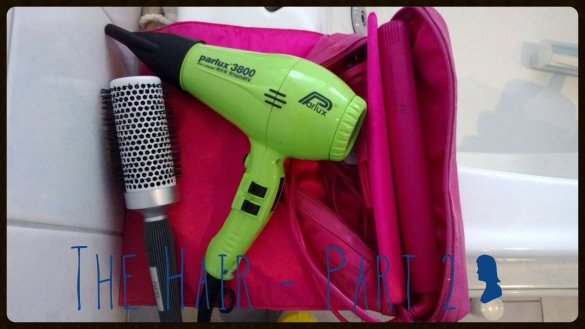 My hair tools.